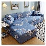 SXAQH Funda de sofá Cubierta Sofá con Forma Universal L,1 2 3 4...