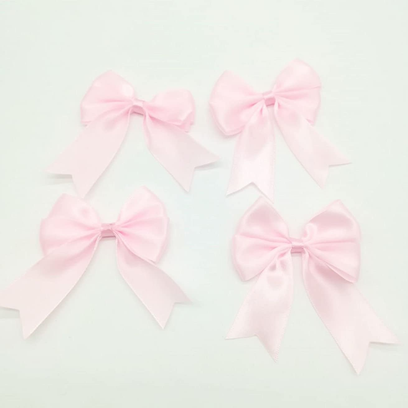 Paity Fabric Ribbon Baby Shower Birthday Party Party Decorations Christmas Party Girl Bows, Hair Bow, Ribbon Bow, Grosgrain Ribbon Bow, DIY Hair Accessories