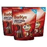 BARKYS Palitos de Carne Jerky Stick, 3 Pack de 100 g