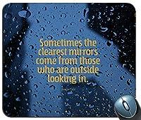 時々人気の引用水滴雨滴15600マウスパッドマットマウスパッドホットギフト