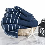Best Bath Towel - Combed Cotton Towel Set- Rice Weave 100% Combed Review