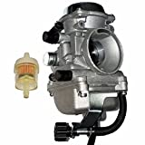 ZOOM ZOOM PARTS Carburetor for KAWASAKI KLF 300 KLF300 1986 87 88 89 90 91 92 93 94 95 1996 97 98 99 00 01 02 03 04 2005 BAYOU Carby Carb ATV FREE FEDEX 2 DAY SHIPPING FREE FUEL FILTER AND STICKER