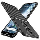 iBetter Nokia 4.2 Hülle, Ultra Thin Tasche Cover Silikon Handyhülle Stoßfest Hülle Schutzhülle Shock Absorption Backcover Hüllen passt für Nokia 4.2 Smartphone (Schwarz)