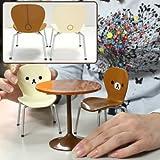 San-X Rilakkuma Miniature Cafe Table and Chair Set (japan import)