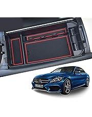 CDEFG do Benz klasy C GLC X253 W205 schowek na rękawiczki, podłokietnik, wielofunkcyjne przechowywanie, organizer samochodowy, konsola, organizer, wnętrze, akcesoria