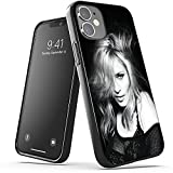 IDOWMAT Compatible with Coque iPhone 6 Plus & Coque iPhone 6S Plus Black TPU Soft Silicone Phone Case Hats Une MiXC ku Mode_0556