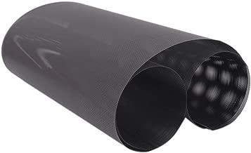 Panghuhu88 DIY 30x100cm Computer Mesh PVC PC Case Fan Cooler Black Dust Filter Cover