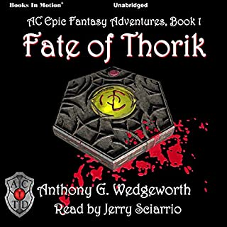 Fate of Thorik audiobook cover art