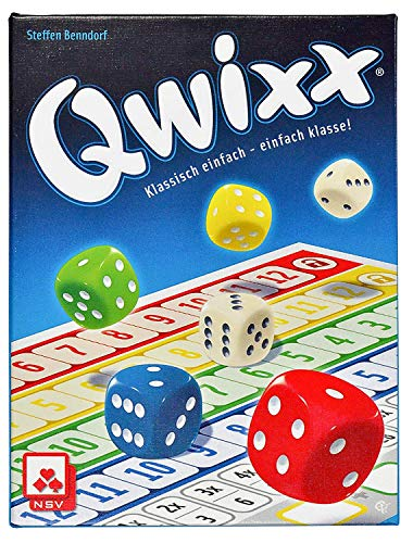 NSV - 4015 - QWIXX - Nominated for The Game of The Year 2013 - Dice Game