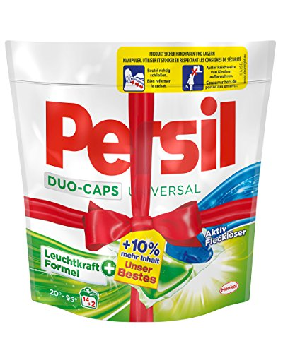 Persil Universal Duo-Caps Unser bestes, 5er Pack (5 x 16 WL)