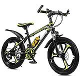 OFFA Bicicleta para Niños Y Niñas, Bicicleta De Montaña para Niños 20 22 Ruedas De 24 Pulgadas Freno De Disco De Velocidad Variable De 21 Velocidades Bicicleta De Montaña