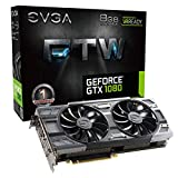 EVGA GeForce GTX 1080 FTW GAMING ACX 3.0, 8GB GDDR5X, RGB LED, 10CM...