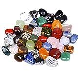 TAOYUN 10 Piezas de Piedras Preciosas Naturales, Rocas sin Forma, Adornos Decorativos de Piedra de Acuario para paisajismo, pecera, Accesorios de decoración de Fondo, Color Aleatorio