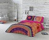 Naturals Funda nórdica Yasin, cama de 180 cm, multicolor