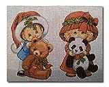 hudema's Kit para Bordado Cañamazo Estampado para Medio Punto niños 20x25 Cod 1183