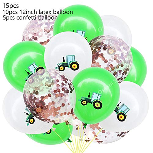 ASD Tractor/graafmachine icoon opgeblazen ballon