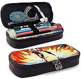 Estuche para lápices de gran capacidad de gran capacidad para lápiz de pluma de gran capacidad, organizador portátil de bolsa con cremallera para escuela y oficina - Typhlosion Attack