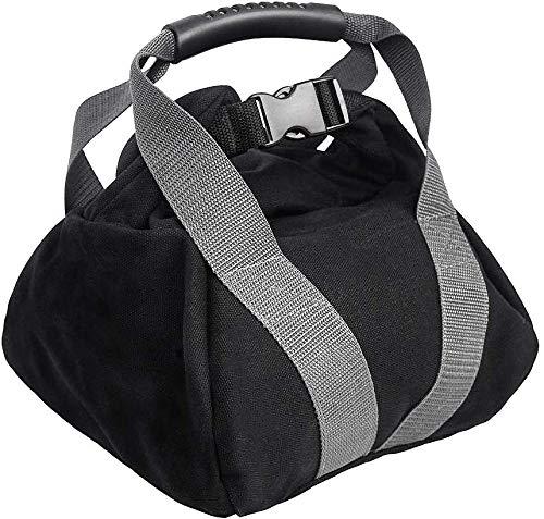 Namvo Bolsa de arena de pesas rusas, ajustable, para levantamiento de pesas, para entrenamiento, entrenamiento, cómodo, con cierre de hebilla