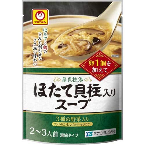 マルちゃん 中華スープ 250g (ほたて貝柱入りスープ, 3袋)