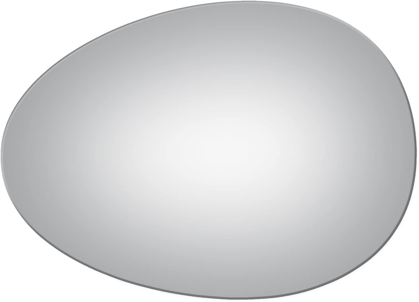 Flat Driver Side Branded goods Mirror Replacement COO MINI Max 82% OFF Glass for 2007-2015