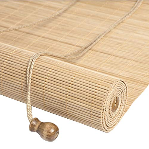 Bamboo curtain Cortinas de bambú, persianas enrollables, Balcones, persianas Opacas, Cortinas de partición de elevación, Salones de té, restaurantes, Cortinas Decorativas