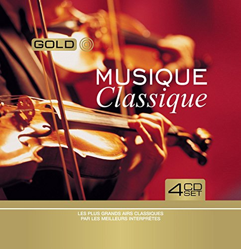 Musique Classique : Les Plus grands airs Classiques par les meilleurs interprètes (Coffret Metal 4 CD)