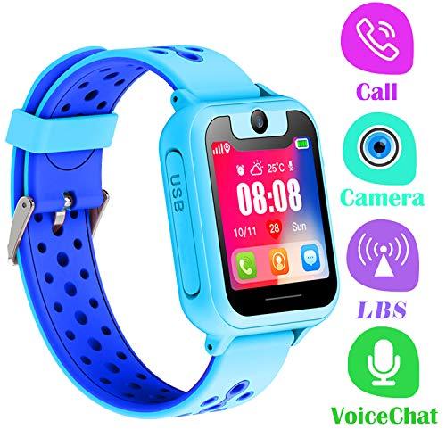 Telefono Reloj Inteligente LBS Niños - Smartwatch con...