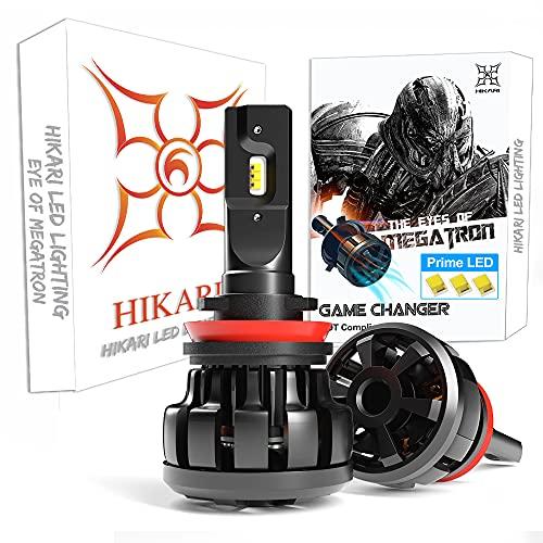 HIKARI Ultra H11 LED Bulbs