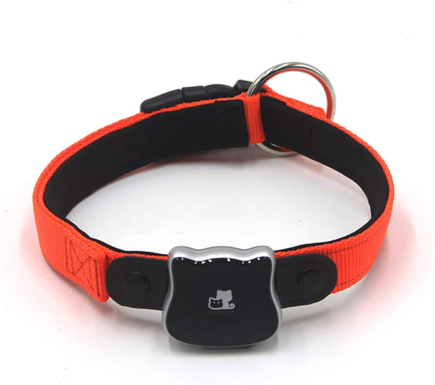 NJSD Mini Dog Locator, GPS+LBS Positioning, Swimming Waterproof Level, 120H Standby, Remote Voice Call, Low Power Reminder, RealTime Tracking, And Positioning