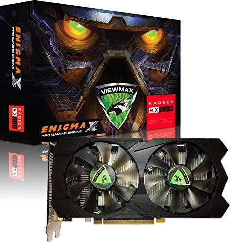 ViewMax ENIGMAX Radeon RX 560 4GB GDDR5 128-Bit DirectX 12 PCI Express 3.0 DVI-D Dual Link, HDMI, DisplayPort, PRO Gaming Edition