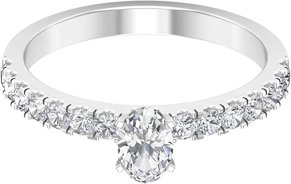 0.92Ct SGL Luxury goods Certified Diamond Mixed Ring Metal Max 59% OFF Women Unique Side