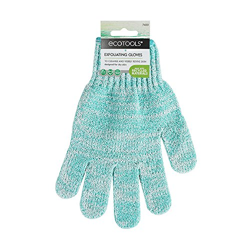 EcoTools Recycled Bath and Shower Gloves (color may vary) by EcoTools