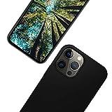 eplanita Eco iPhone 12 y 12 Pro funda para teléfono móvil, fibra vegetal biodegradable y...