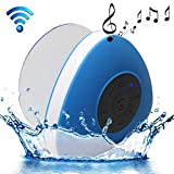 Mini Enceinte Bluetooth Triangle Kit Mains-libres Ventouse Puissante Waterproof - Yonis