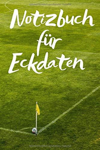 Notizbuch für Eckdaten: Für die Notizen und Bilder deines Tages, beim Fußball oder Spielen, Notizheft im coolen Design, Punkteraster,120 Seiten,