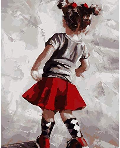 Diy Pintura Digital Pintura Digital Adulto Niña Adulto Pintura Al Óleo Digital Lienzo Conjunto Regalo De Vacaciones Creación Artística Hecha A Mano