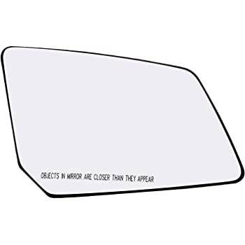 FOR 07-16 GMC ACADIA SATURN OUTLOOK LH LEFT DOOR MIRROR GLASS W//HEATED 15951926