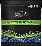 Aquael - Grava para acuariofilia (2 a 3 mm, 1 kg), Color Azul