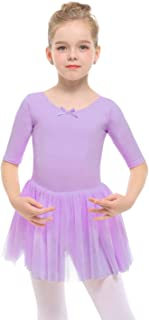 Toddler/Girls Cute Tutu Dress Leotard for Dance, Gymnastics and Ballet