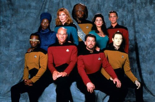 POSTERS Star Trek TNG 28 cm x43cm 11inx17in Mini-Poster