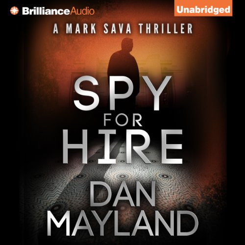 Spy for Hire audiobook cover art