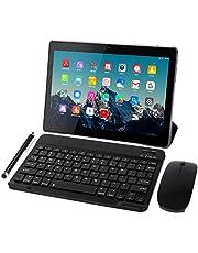 Tablet 10 Pollici 4G LTE - TOSCIDO Octa Core 1.6GHz Tablet Android 10.0,4GB RAM,64GB ROM,Dual Sim,WiFi,Tastiera Wireless | Mouse | Cover per Tablet M863 e Altro Inclusa - Grigio