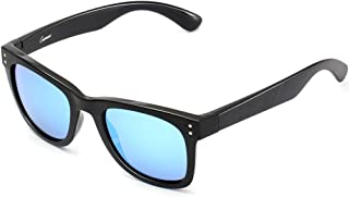 CAXMAN Square Sunglasses for Men Women TR90 Unbreakable, 100% UV Protection
