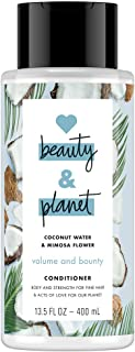 Love Beauty and Planet Coconut Water & Mimosa Flower Conditioner Volume & Bounty, 400ml