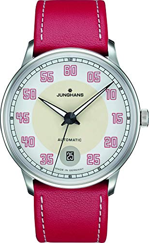 Junghans Damenuhr Meister Driver Automatic Rot 027/4716.00