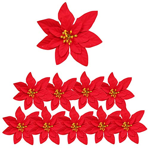 Flores Para Navidad Grandes flores para navidad  Marca Aisszhao