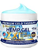❄️High-Strength Multifunctional Formula - our hemp gel provides quick day and night relief from stress, tension and headache. It helps soothe muscle stiffness, joint pain, and soreness. ❄️ All-Natural - Our non-greasy gel is formulated with these pow...