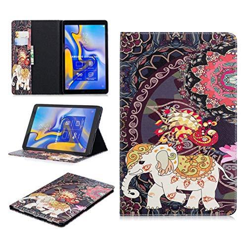 QiuKui Tab Funda For la lengüeta 10.5 Una A2, del Caso del tirón del búho Oso PU Cuero for Samsung Galaxy Tab 10.5 Una A2 (Color : 16)