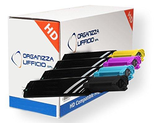 C1100 KIT 4 TONER COMPATIBILI PER EPSON ACULASER C1100, C1100D, C1100DN, C1100N, CX11N, CX11NF, CX11NFC, CX11NFT - UN SET