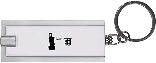 'Referee Holding Flag' Keyring LED Torch (KT00007942)
